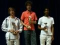 Podium Individuel Fleuret Juniors Hommes